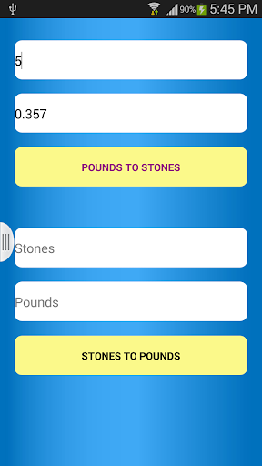 Pounds to Stones Converter
