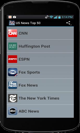 US News Top 50