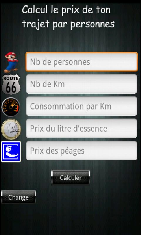 Covoiturage - screenshot