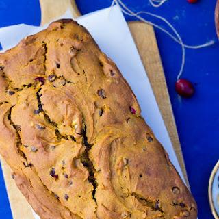 Super Moist Gluten Free Loaded Pumpkin Orange Bread.