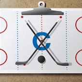 Ice hockey coach's clipboard
