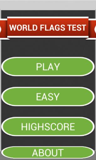 【免費益智App】WORLD FLAGS TEST-APP點子