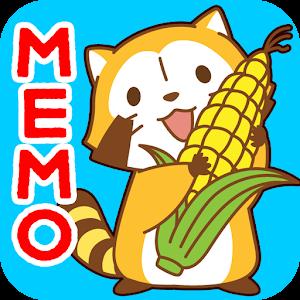 MEMO PAD WIDGET araigumarascal 個人化 App LOGO-APP試玩
