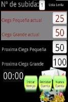 Screenshot of Poker Blind Counter