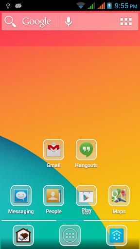 玩個人化App|Kitkat Glass Icon Pack免費|APP試玩