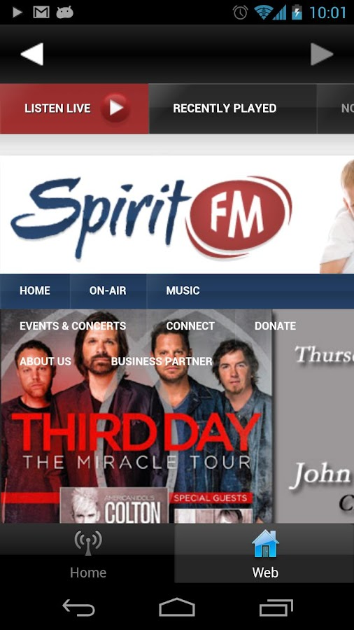 Spirit FM - screenshot