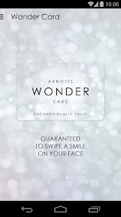 Arnotts Wonder Card- screenshot thumbnail