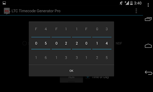 Download LTC Timecode Generator Pro APK latest version 1 5 for android  devices