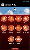 Screenshot of Marciano Arte-Galleria d'Arte