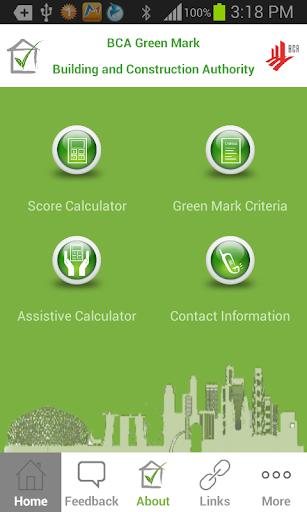 BCA Green Mark Android App