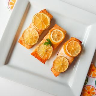 Lemon And Lime Citrus Wild Pacific Salmon