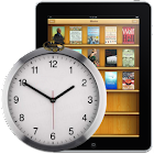 Clock widjet for Book icon