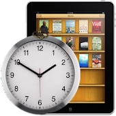 Clock widjet for iBook