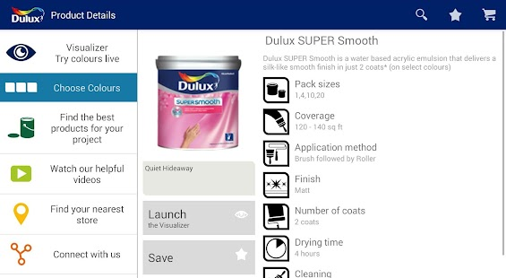 Dulux Visualizer IN- screenshot thumbnail