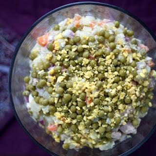 Olivier Potato Salad.