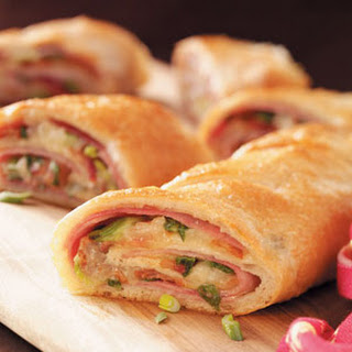 Ham and Swiss Stromboli