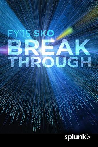 Splunk FY15 SKO
