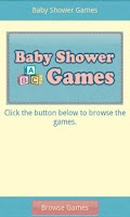 Screenshot of Baby Shower Games