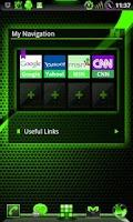 Screenshot of GOWidget PoisonGreen ICS -Free