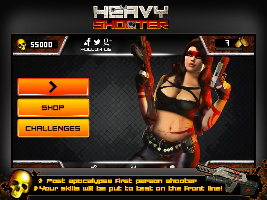 Heavy Shooter- screenshot