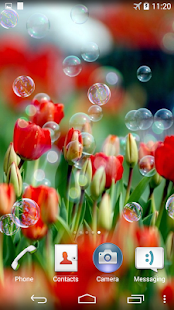 Soap Bubbles Live Wallpaper - screenshot thumbnail