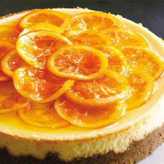 Caramelized Orange Cheesecake