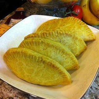 Jamaican Curried Mince Pasties.