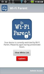 Wi-Fi Parent- screenshot thumbnail