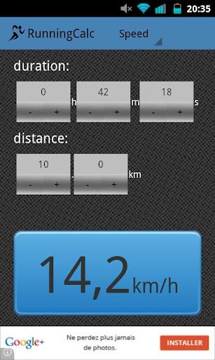 Running Calc