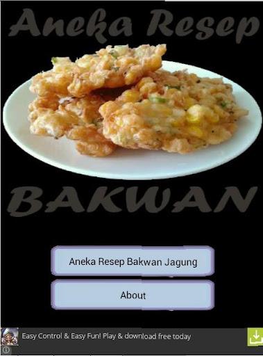 Aneka Resep Bakwan Jagung