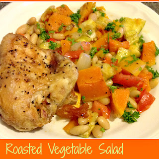 Roasted Vegetables Salad.