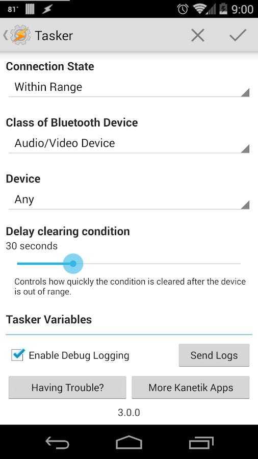 Bluetooth Detection - screenshot
