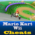 Mario Kart Wii Cool Cheats logo