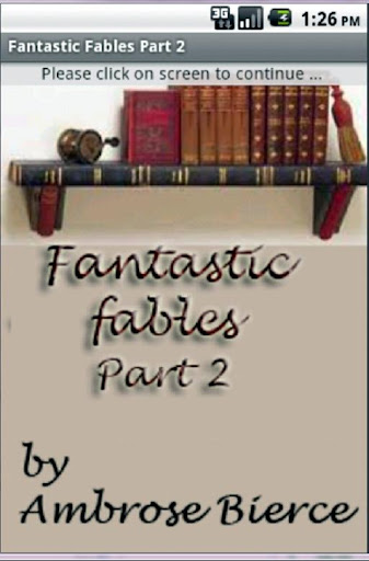 Fantastic Fables Part 2