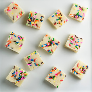 Easy Cake Batter Fudge.