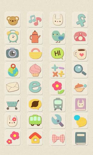 CUKI Theme Pastel Patten Icon