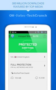 Hotspot Shield VPN & Proxy - screenshot thumbnail