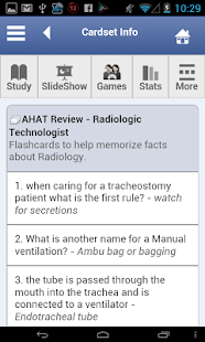AHAT Flashcards - screenshot thumbnail