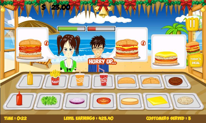 Stand O Burger Pro-10 GoldCoin - screenshot