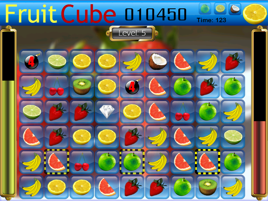 Fruit Cube - screenshot
