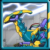 Dino Robot - Lightning Parasau