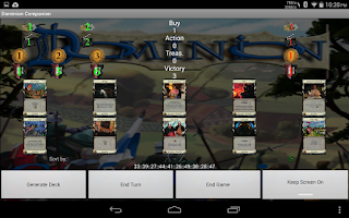Screenshot of Dominion Companion