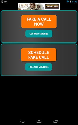 Fake-A-Call Free screenshot 13