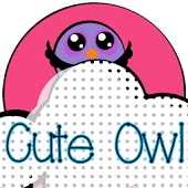 Cute Owl Go Launcher Theme