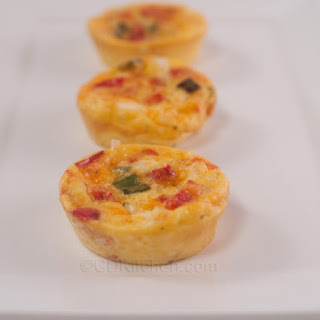 Bite-Size Crustless Quiches.