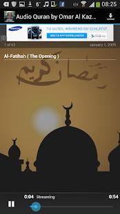Audio Quran by Omar Al Kazabri - náhled