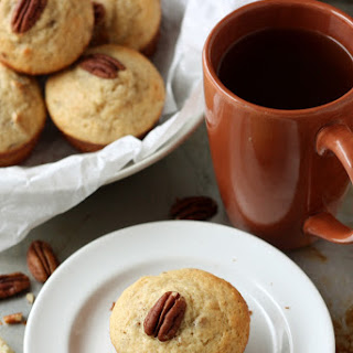 Maple Yogurt Muffins with Pecans