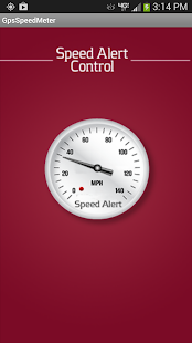 Speed Alert Control - screenshot thumbnail