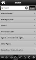 Screenshot of Pain Management pocketcards