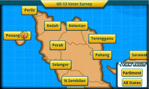 GE-13 Voter Survey - screenshot thumbnail